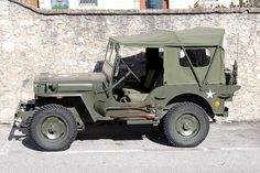 1942 Willy's Jeep.