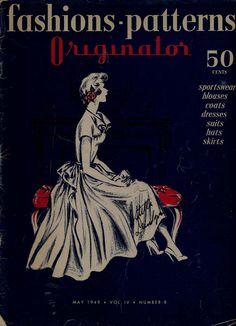 Originator, 1940s fashions - patterns
