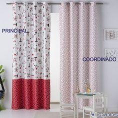 cortina confeccionada perros infantil sansa