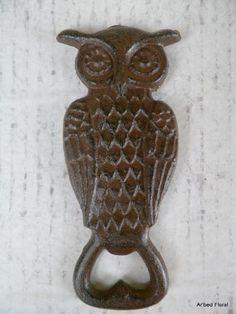 Cast Iron Owl Bottle Opener ~ Brown MGS http://www.amazon.com/dp/B009SDVQNK/ref=cm_sw_r_pi_dp_0Lsuub0XFF9MR