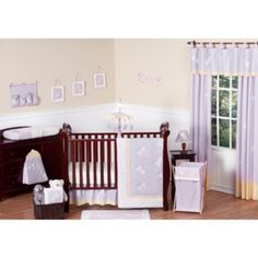Sweet Jojo Designs Dragonfly Dreams Crib Bedding Collection in Purple - BedBathandBeyond.com