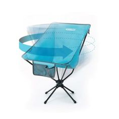 9. Compaclite Patented Oversized 360 Swivel Steel Camping Chair