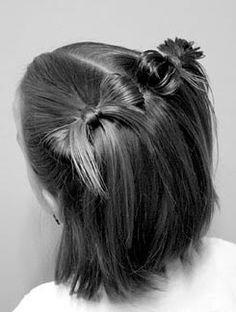 детская прическа на короткие волосы
