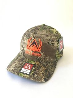 9eb46e90e8e Hunt Creek Flexfit Camo Hat – Next Ridge Apparel Camo Hats