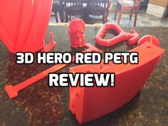 Want to try printing PETG? Have you had bad experiences in the past? If so, read this and give Hero Red PETG a try! Hard Pressed, 3d Printing Service, Save The Day, What Happens When You, Baby Steps, Feeling Great, The Past, Hero, Prints
