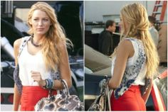 Loving: Blake Lively's Simple Sexy Hair in the Gossip Girl Premiere