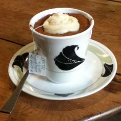 Constant Comment Tea Cupcake - CAKE, not tea!
