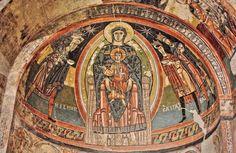 Santa María de Taüll, Valle de Boí - Pinturas Románicas del Ábside, Epifanía