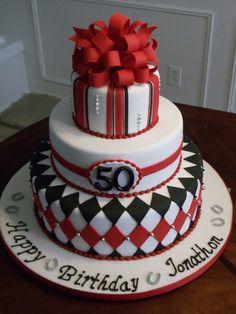 50th Birthday Cakes for Women | ... Racing Silks inspired 50th Birthday cake in album: Birthday Cakes