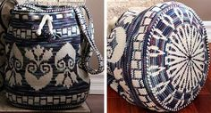 Tapestry Crochet shared Marina Gavrilov's striking tapestry #crochet bags and the process behind them.