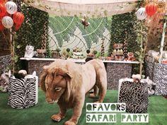 Jungle Safari Birthday Party Ideas | Photo 8 of 41