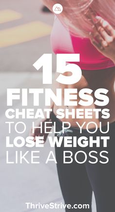 15 quick, home workouts that will help you burn belly fat and lose weight. Use these cheat sheets to get in a nice workout at home.