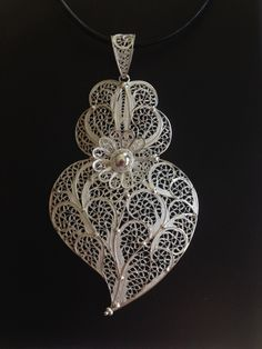 Filigree Portuguese heart - Mother's Day gift