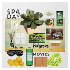 """""""spa day 4.von"""" by vonalexandria ❤ liked on Polyvore featuring beauty, African Botanics, Urban Spa, Tocca, Molton Brown, Perpetual Shade, Versace, Dr. Bronner's, CB2 and spaday"""