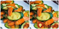 Carrots and zucchini sautéed in olive oil with an abundance of spices, really do make dinner come alive. Perfect when paired with an entire baked chicken. dinner recipes keto Sautéed Carrots And Zucchini Veggie Side Dishes, Vegetable Dishes, Food Dishes, Zucchini Vegetable, Food Food, Dinner Side Dishes, Salmon Side Dishes, Junk Food, Sides For Dinner
