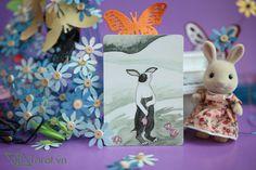 4 of Cups - The Rabbit Tarot