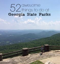 We are so excited to partner with Georgia State Parks for another year of adventure in 2016. In honor of that partnership, we updated our bucket list and decided to share it with you! How many of these can you mark off your list? This is a great way to find free and cheap things to do from Atlanta, Georgia.