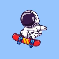 Abstract Logo, Geometric Logo, Wallpaper Iphone Cute, Cartoon Wallpaper, Astronaut Cartoon, Astronaut Illustration, Science Icons, Isometric Design, Cool Art Drawings
