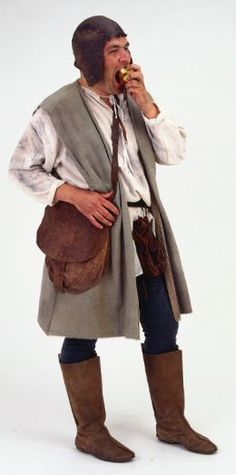 A medieval style peasant