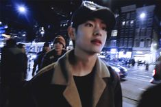 Animated gif shared by Find images and videos about gif, bts and jungkook on We Heart It - the app to get lost in what you love. Bts Bangtan Boy, Jimin, Two Color Hair, V Gif, Bts Imagine, Most Handsome Men, Kpop, V Taehyung, Bts Photo