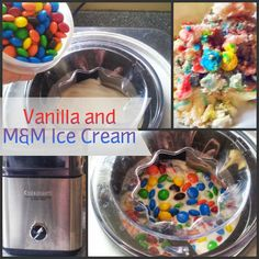 Easy Homemade Vanilla Ice Cream Recipe Without Eggs and With M! http://momalwaysfindsout.com/2013/06/homemade-vanilla-ice-cream-recipe-without-eggs/