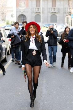 Anna Dello Russo Street Style | How to Wear Bows as a Grown Adult Woman | StyleCaster