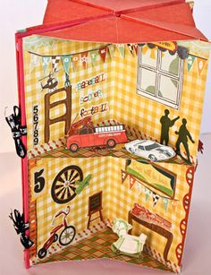 How to Make a Pop-Up Book Dollhouse