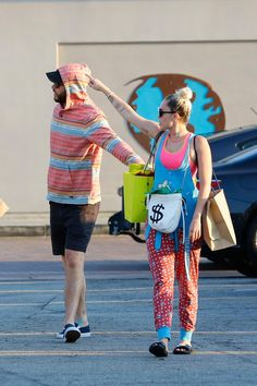 Pin for Later: Miley Cyrus and Liam Hemsworth Go Shopping Amid Wedding-Planning Woes