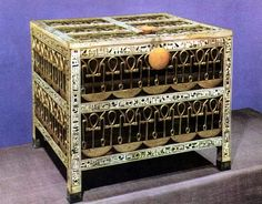 Chest from the Tomb of Tutankhamun.