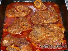 Ossobuco from the calf slice with gremolata - Fleisch Gremolata, Pot Roast, Calves, Low Carb, Cooking, Ethnic Recipes, Food, America, Baking Cookies