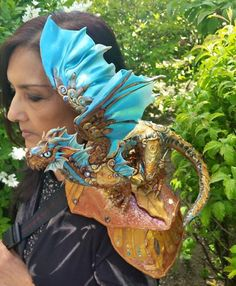 Hi, If you want a shoulder dragon please read a few facts about my creatures.  I started selling my shoulder dragons when I made one for myself.