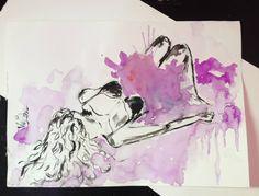 aquarela water color ilustração