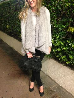 Winter night outfit! ivylanestyle.com