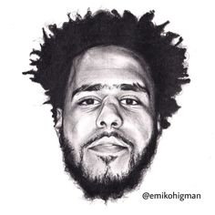 Final Artwork drawing I did a year ago of J Cole #jcole #rap #rapper #music #rnb #art #artist #drawing #traditionalart #pencil #sketch #illustration #illustrator #realisticart #inspirationalquotes #design #emikohigman