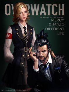 Overwatch:Different Life by Liang-Xing