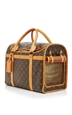 Vintage Louis Vuitton Monogram Sac Chien Dog Carr From What Goes Around Comes Around by WGACA for Preorder on Moda Operandi