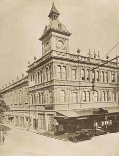 St George's Hall at 354 King St,Newtown in the inner west of Sydney (year unknown).
