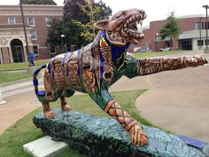 How Tiger Gifts Enhance the University of Memphis Parent Fund Memphis Tigers, Delta Blues, Memphis Tennessee, Hunts, Business Card Holders, Colleges, Love Art, Customized Gifts, Statues
