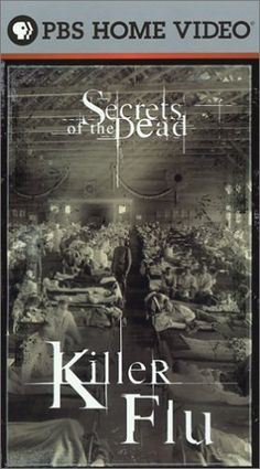 "Killer Flu: Secrets of the Dead - 2003 - DVD02663 -- ""Narrated by Liev Schreiber. Discusses the 1918 flu pandemic, its deadly consequences and the possibility that a similar strain could occur today."""