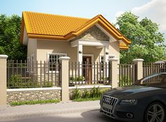100 Small Beautiful House Design Photos that you can get ideas from, Simple House and Bungalow type houses with single to two bedroom