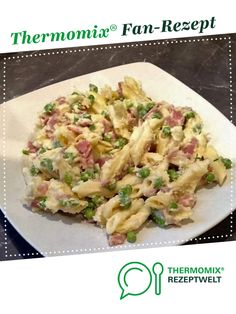 Pasta with peas and cheese Gesund essen Pea Salad, Potato Salad, Meat Recipes, Healthy Recipes, Cooking Recipes, Pasta With Peas, Vegetable Dishes, Vegetable Stock, Casserole Dishes