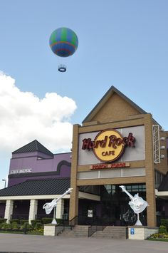 The Hard Rock Cafe in Pigeon Forge - A wonderful place to eat and be entertained!
