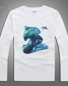 Camiseta de manga comprida para homens Dota 2 herói impressão Morphling-