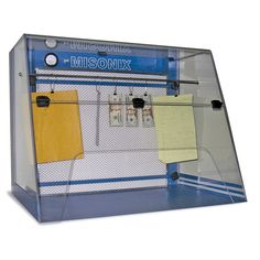 This new forensic workstation is the first system designed specifically for the development of latent fingerprints with both powders and Ninhydrin. Worker safety is our number-one priority, and this system is highly effective at reducing the potential for exposure to these common forensic chemicals.Internal fans draw a constant flow of air into the system, and a combination of filters work together to contain both powders and vapors before returning clean air to the lab. The top, sides and…