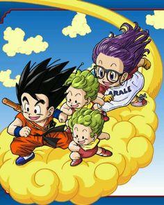 Goku & arale