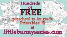 Little Bunny series Printable Name Tags, Free Printable Worksheets, Free Printables, Free Preschool, Preschool Worksheets, Teaching Abcs, Adorable Bunnies, Love Parents, Reading Worksheets