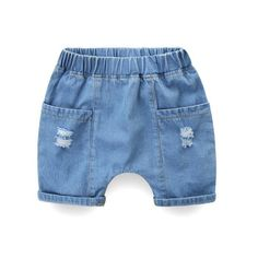 Rugged Stretchable Waist Ripped Denim Shorts from kidspetite.com!  Adorable & affordable baby, toddler & kids clothing. Shop from one of the best providers of children apparel at Kids Petite. FREE Worldwide Shipping to over 230+ countries ✈️  www.kidspetite.com  #clothing #girl #shorts #toddler Ripped Denim, Denim Shorts, Hot Dads, Toddler Girl Shorts, Dog Best Friend, Daddys Little, Suspenders, Kids Clothing, Countries