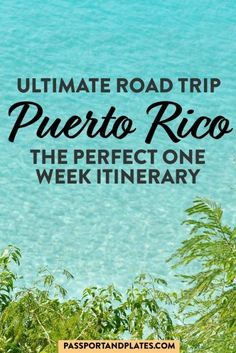 Planning a trip to Puerto Rico? Instead of staying in San Juan, plan the perfect Puerto Rico road trip with this itinerary, covering ALL the highlights! | Puerto Rico Road trip itinerary | One week in Puerto Rico