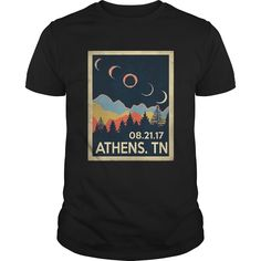 Vintage Athens Tennessee #Solar #Eclipse 2017 Tshirt, Order HERE ==> https://www.sunfrog.com//135957820-979390519.html?54007, Please tag & share with your friends who would love it, #jeepsafari #birthdaygifts #superbowl