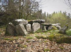 Burren Forest,  the Passage - Tomb.  Ireland